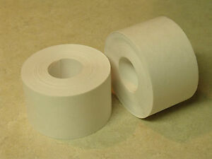 6 Rolls 2 X 100 Feet Each Water Activated White Kraft Paper Tape