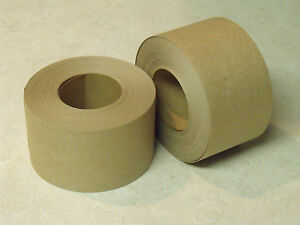 6 Rolls 2 X 100 Feet Each Tan Kraft Paper Tape