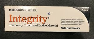 Integrity Temporary Crown And Bridge Material