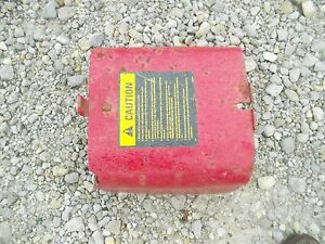 Farmall Super M Rowcrop Tractor Ih Pto Take Off Shield