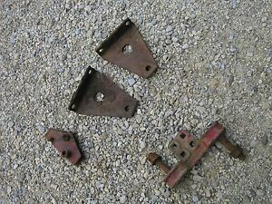 Farmall B Bn Tractor Original Ih Front Cultivator Mounting Brackets