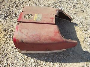 Farmall 504 Utility Tractor Original Ih Front Hood Cover Panel Over Tank