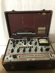 Hickok Model 600 Micrombo Dynamic Mutual Conductsnce Tube Tester
