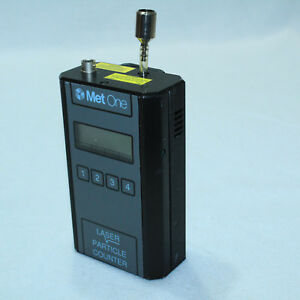 Gorgeous Met One 227b Laser Handheld Air Particle Counter