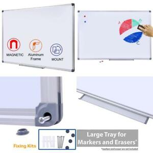 Magnetic Dry Erase Board 24x36 Inch White Board With Aluminum Frame Dry Eras