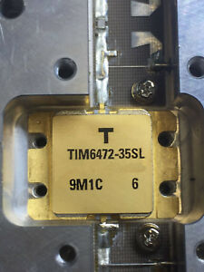 Tim6472 35sl Microwave Power Gaas Fet 6 4 To 7 2 Ghz