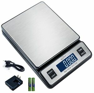 Weighmax W 2809 90 Lb X 0 1 Oz Durable Stainless Steel Digital Postal Scale S