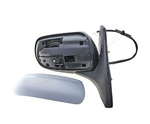 Mazda 323s 323f 1998 2000 Electric Side Mirror Adjustable Heated Primed Right