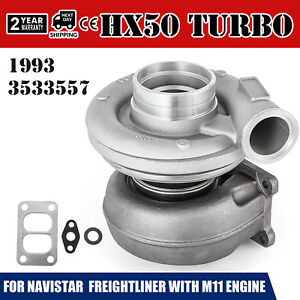 Le Hx50 Turbo Charger For M11 Cumnins Diesel Engine 3533557 3533558 3803710 Seat