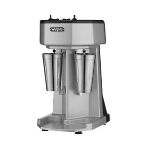 Waring Wdm240 3 speed Double Spindle Drink Mixer
