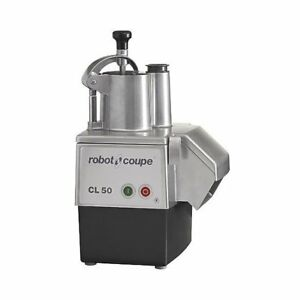 Robot Coupe Cl50e 1 5 Hp Commercial Food Processor With Continuous Feed