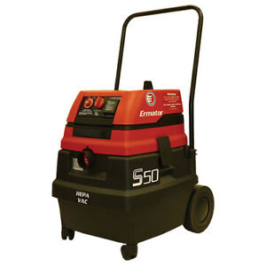 Pullman Ermator S50 Wet dry Hepa Vacuum With Power Tool Outlet