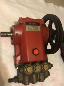Giant Pump High Pressure German 1988 Reciprocating Triplex Plunger Pump vintage