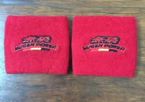 2x Red Jdm Fire Proof Mugen Tank Reservoir Cover Socks For Civic