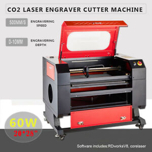 60w Co2 Laser Engraving Cutting Machine 20 X 28 Laser Engraver Machine Usb Port