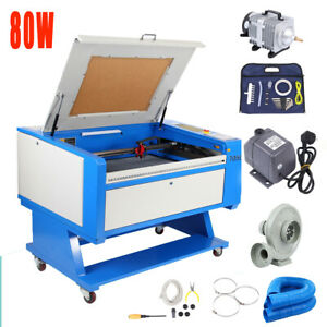 80w Co2 Usb Port Engraving Cutting Machine 700x500mm Cutter Fda W Water Chiller