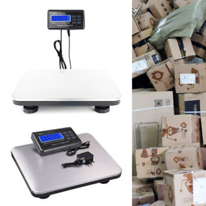 660lbsx0 1lb Digital Floor Bench Scale Postal Parcel Package Weigh Lcd Ac New