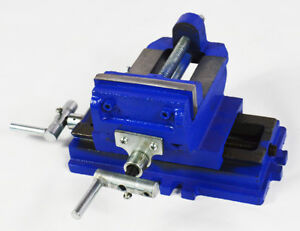 New Precise 2 Way 4 inch Drill Press X y Compound Vise Cross Slide Mill Clamp