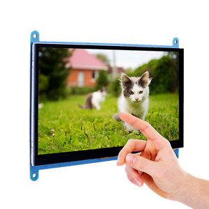 7 Inch Capacitive Touch Screen Tft Lcd Display 800x480 For Raspberry Pi Bb Black