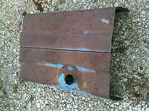 Ford 3000 Diesel Tractor Working Engine Motor Dent Free Hood Cover Panel