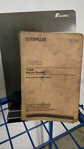 Caterpillar Cat 140g Motor Grader Parts Manual
