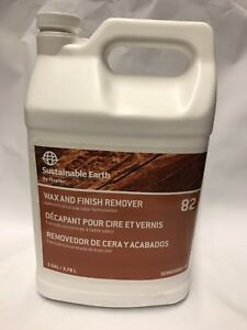 Sustainable Earth By Staples Wax Finish Remover 82 Floor Stripper 1 Gallon