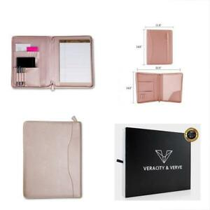 Professional Pu Pad Holders Leather Padfolios Business Portfolio Document