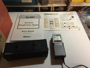 Mitutoyo Sj 201 Surface Roughness Tester New In Factory Box