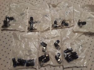 Nitra Pneumatic Push to connect Fittings Lot Of 21 Fittings Flow Valves