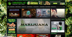 Cannabis News And Affiliate Product Website 100 Automated Ready For Business