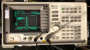 Hp 8593e Spectrum Analyzer 9 Khz To 26 5 Ghz Hpib