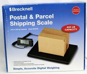 Brecknell Postal parcel Shipping Scale 400lbs Bps400 Digital