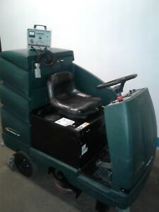 Nobles Ez Rider 28 Floor Scrubber W 446 Hours Battery Operated Ride 0n
