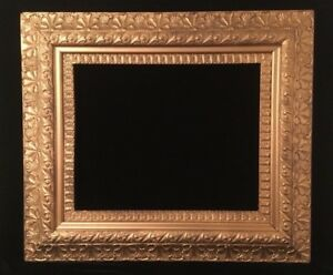 Large Antique Ornate Gold Gilt Picture Frame Victorian Wood Gesso 16x20 Opening