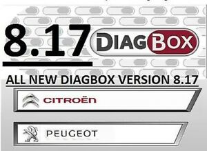 Diagbox 8 17 Software Einbau Service Lexia 3 Peugeot Planet citroen Diagnose