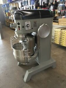 Refurbished Hobart P660 60 Qt Mixer W Hook bowl 12 Cheese Grater 208 240v 3ph