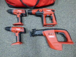Hilti Bare Tools In Bag