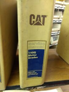 Caterpillar Cat 140g Motor Grader Service Manual