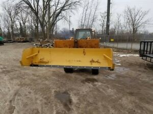Snow Pusher Box Plow Loader 12 Ft New