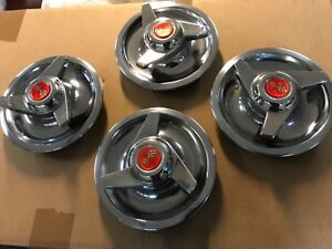 Chevrolet Corvette Rally Center Caps With Spinners