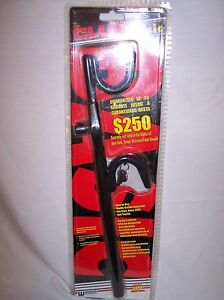 New In Package The Club Basic Steering Wheel Lock Black 1234