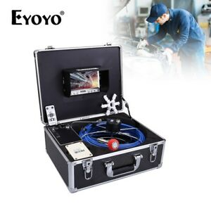 35m Cable Pipe Under Water Sewer Inspection Camera System 7inch Ip68 Waterproof