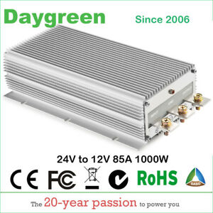 24v To 12v 80a 85a Step Down Dc Dc Converter Regulator Reducer 85 Amp 1000w
