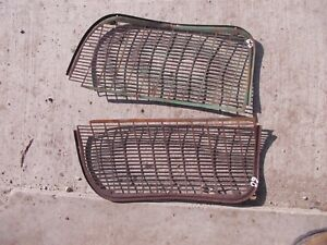 Oliver 60 Tractor Nice Original Front Grill Nose Cone Grilles