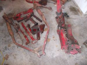 Farmall 560 450 Mta 400 Tractor 2pt Fast Hitch Fasthitch Complete 3pt Bracket