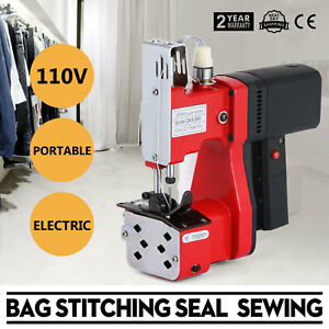 Electric Bag Sewing Machine Sealing Machines Industrial 110v Tool Updated