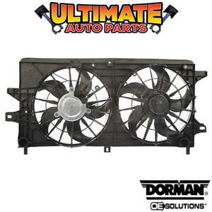 Radiator Cooling Fan 3 8l Non supercharged For 04 05 Pontiac Grand Prix