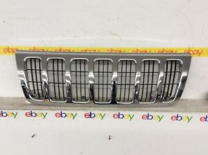 1999 2000 2001 2002 2003 Jeep Grand Cherokee Chrome Grille Oem