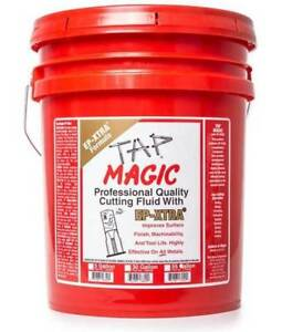 5 gal Tap Magic Ep xtra Formula Cutting Fluid for Drilling tapping milling