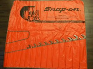 Snap On Large 4 Way Angle Head Wrench 10pc Set Lot 1 1 16 3 8 7 16 1 2 5 8 11 16